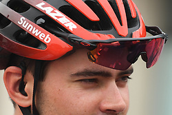 March 1, 2019 - Ajman, United Arab Emirates - Tom Dumoulin of Sunweb Team, seen at the start line of the sixth Rak Properties Stage of UAE Tour 2019, a 180km with a start from Ajman and finish in Jebel Jais. .On Friday, March 1, 2019, in Ajman, Ajman Emirate, United Arab Emirates. (Credit Image: © Artur Widak/NurPhoto via ZUMA Press)