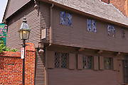 Paul Revere House on the Freedom Trail, Boston, Massachusetts