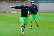Forest Green Rovers Dayle Grubb(8) warming up  during the EFL Sky Bet League 2 match between Port Vale and Forest Green Rovers at Vale Park, Burslem, England on 20 August 2019.
