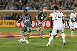 September 22, 2018 - Minneapolis, MN, USA - Minneapolis, MN - Saturday, September 22, 2018: Minnesota United FC played Portland Timbers in a Major League Soccer (MLS) game at TCF Bank stadium. Final score Minnesota United 3, Portland Timbers 2 (Credit Image: © Jeremy Olson/ISIPhotos via ZUMA Wire)