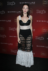 People's One's to Watch Event Celebrating Hollywood's Rising and Brightest Stars - Los Angeles. 04 Oct 2017 Pictured: Violett Beane. Photo credit: Jaxon / MEGA TheMegaAgency.com +1 888 505 6342