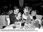 Michail Barisnicov and Susan Gutfreund.  Valentino party. Rome. 7 June 1991. Film 91543f27<br />© Copyright Photograph by Dafydd Jones<br />66 Stockwell Park Rd. London SW9 0DA<br />Tel 0171 733 0108