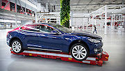 Tesla-fabriek in Tilburg.