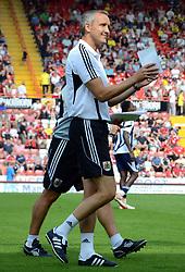 Bristol City Manager, Keith Milen - Photo mandatory by-line: Joseph Meredith / JMPUK - 30/07/2011 - SPORT - FOOTBALL - Championship - Bristol City v West Bromwich Albion - Ashton Gate Stadium, Bristol, England