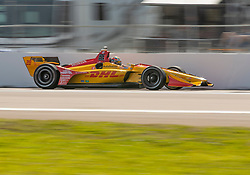 March 9, 2019 - St. Petersburg, FL, U.S. - ST. PETERSBURG, FL - MARCH 09: Andretti Autosport driver Ryan Hunter-Reay (28) of United States during the NTT IndyCar Series - Firestone Grand Prix Qualifying on March 9 in St. Petersburg, FL. (Photo by Andrew Bershaw/Icon Sportswire) (Credit Image: © Andrew Bershaw/Icon SMI via ZUMA Press)