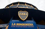 La Bombonera, home of Boca Juniors, the most popular football club in the city.