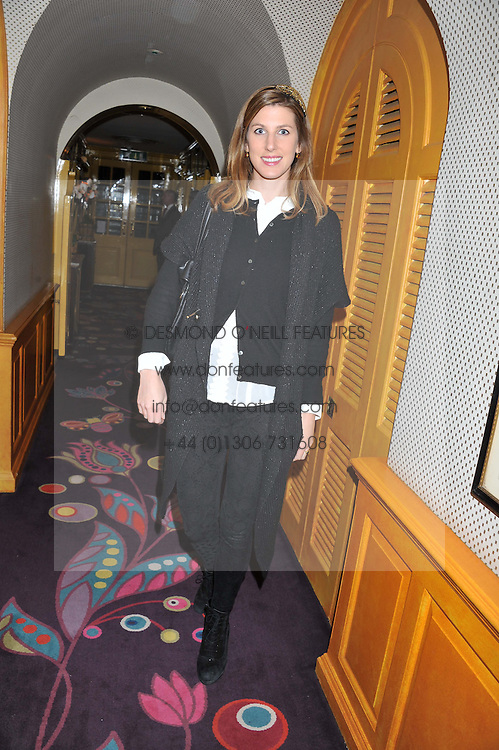 SUSANNA WARREN at the Johnnie Walker Blue Label and David Gandy partnership launch party held at Annabel's, 44 Berkeley Square, London on 5th February 2013.