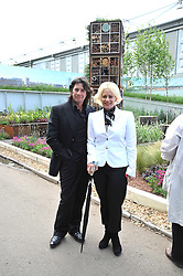 Laurence Llewelyn-Bowen and his wife Jackie at the RHS Chelsea Flower Show 2009 held inthe gardens of the Royal Hospital Chelsea on 18th May 2009.