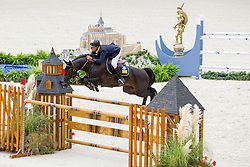 Ferenc Szentirmai, (UKR), Chadino - Team & Individual Competition Jumping Speed - Alltech FEI World Equestrian Games™ 2014 - Normandy, France.<br /> © Hippo Foto Team - Leanjo De Koster<br /> 02-09-14