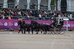 Simonet Edouard, BEL, Bouke, Dark Dream, El Fierro v Vemmekeshoeve d 07<br /> FEI European Driving Championships - Goteborg 2017 <br /> © Hippo Foto - Stefan Lafrenz