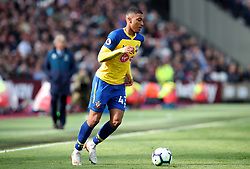 Southampton's Yan Valery during the Premier League match at the London Stadium.,