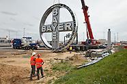 Bayer Logo BER Airport