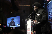 NEW YORK, NEW YORK-JUNE 4: Music Producer/Drummer Questlove for the ROOTS attends the 2019 Gordon Parks Foundation Awards Dinner and Auction Inside celebrating the Arts & Social Justice held at Cipriani 42nd Street on June 4, 2019 in New York City. (Photo by Terrence Jennings/terrencejennings.com)