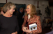 Germaine Greer and Princess Michael of Kent, 1812 Napoleon's Fatal March on Moscow by Adam Zamoyski book launch. Avenue Studios. Fulham Rd. 5 April 2004. ONE TIME USE ONLY - DO NOT ARCHIVE  © Copyright Photograph by Dafydd Jones 66 Stockwell Park Rd. London SW9 0DA Tel 020 7733 0108 www.dafjones.com