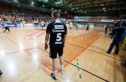Arena Bonifika during handball match between RK Cimos Koper and RK Gorenje Velenje in 25th Round of 1st NLB Leasing League 2011/12, on March 31, 2012 at Arena Bonifika, Koper, Slovenia. Gorenje Velenje defeated Cimos Koper 31-29. (Photo by Vid Ponikvar / Sportida.com)