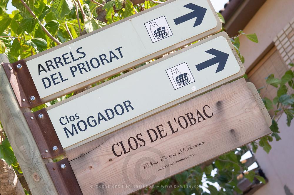 Arrels del Priorat, Clos Mogador, Clos de l'Obac. Priorato, Catalonia, Spain