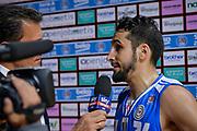 DESCRIZIONE : Varese Lega A 2015-16 Openjobmetis Varese Dinamo Banco di Sardegna Sassari<br /> GIOCATORE : Rok Stipcevic<br /> CATEGORIA : Sky Televisione <br /> SQUADRA : Dinamo Banco di Sardegna Sassari<br /> EVENTO : Campionato Lega A 2015-2016<br /> GARA : Openjobmetis Varese - Dinamo Banco di Sardegna Sassari<br /> DATA : 27/10/2015<br /> SPORT : Pallacanestro<br /> AUTORE : Agenzia Ciamillo-Castoria/M.Ozbot<br /> Galleria : Lega Basket A 2015-2016 <br /> Fotonotizia: Varese Lega A 2015-16 Openjobmetis Varese - Dinamo Banco di Sardegna Sassari