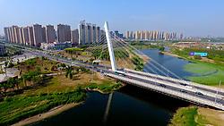 June 15, 2017 - Shenyan, Shenyan, China - Shenyang, CHINA-June 13 2017: (EDITORIAL USE ONLY. CHINA OUT)..A Half Marathon will be held at the ecological corridor in Shenyang, northeast China's Liaoning Province, June 14th, 2017. (Credit Image: © SIPA Asia via ZUMA Wire)