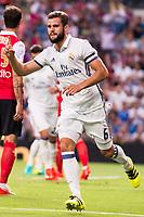 Real Madrid's player Nacho during the XXXVII Santiago Bernabeu Trophy in Madrid. August 16, Spain. 2016. (ALTERPHOTOS/BorjaB.Hojas)