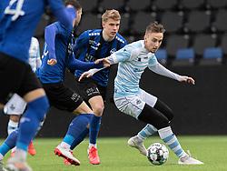 Lucas Haren (FC Helsingør) under træningskampen mellem FC Helsingør og HB Køge den 22. februar 2020 på Helsingør Ny Stadion (Foto: Claus Birch).