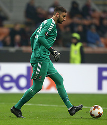 AC Milan Gianluigi Donnarumma in action