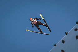 28.02.2021, Oberstdorf, GER, FIS Weltmeisterschaften Ski Nordisch, Oberstdorf 2021, Mixed Teambewerb, Skisprung HS106, im Bild Katharina Althaus (GER) // Katharina Althaus of Germany during the ski jumping HS106 mixed team competition of FIS Nordic Ski World Championships 2021 in Oberstdorf, Germany on 2021/02/28. EXPA Pictures © 2021, PhotoCredit: EXPA/ JFK