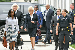 August 22, 2017 - Norristown, Pennsylvania, U.S - THOMAS MESEREAU, and KATHLEEN BLISS, and SAM SIVER, Bill Cosby's new attorneys arriving for a pre-trail hearing along with BILL COSBY, ANDREW WYATT, in Montgomery County PA (Credit Image: © Ricky Fitchett via ZUMA Wire)