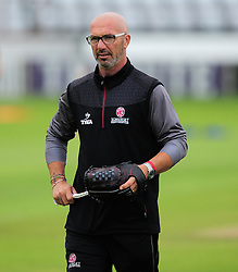 Matt Maynard, director of cricket for Somerset looks on.  - Mandatory by-line: Alex Davidson/JMP - 15/07/2016 - CRICKET - Cooper Associates County Ground - Taunton, United Kingdom - Somerset v Middlesex - NatWest T20 Blast