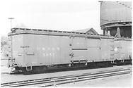 Box car #3057<br /> D&RGW  Salida, CO  Taken by Boyd, J. T. - 6/9/1935