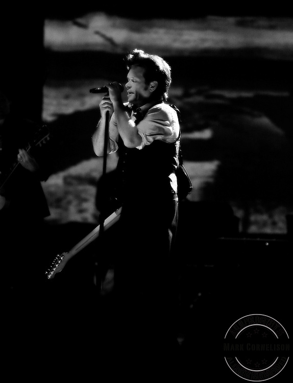 John Mellencamp played the Riverbend Ampitheater in Cincinnati Ohio  on Wednesday  July 23, 2008. Photo by Mark Cornelison