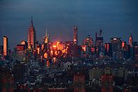 Midtown Manhattan @ Sunset