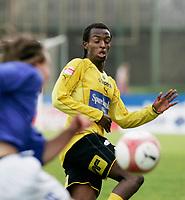 FOTBALL 2. runde i cupen 2006, 8. juni 2006, Mell¯s stadion Moss, MOSS FK v KJELS≈S, Amin Askar MFK, FOTO KURT PEDERSEN / DIGITALSPORT