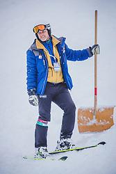 26.01.2019, Kandahar, Garmisch, GER, FIS Weltcup Ski Alpin, SuperG, Damen, im Bild Atle Skaardal (FIS Chef Renndirektor Weltcup Ski Alpin Damen) // Chief Race Director World Cup Ladies of FIS Atle Skaardal during the ladie's Super-G of FIS ski alpine world cup at the Kandahar in Garmisch, Germany on 2019/01/26. EXPA Pictures © 2019, PhotoCredit: EXPA/ Dominik Angerer