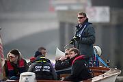 Putney, London, Pre Boat Race Fixture, <br /> Oxford University Boat Club {OUBC}v Leander Club over the River Thames, Championship Course Putney to Mortlake, Saturday 12/03/2016. [Mandatory Credit; Patrick White/Intersport-images]<br /> <br /> Oxford on,Middlesex,  Crew, Bow: George McKirdy – 76.8kg, 2: James White – 87.0kg, 3: Morgan Gerlak – 85.8kg, 4: Joshua Bugajski – 96.4kg, 5: Leo Carrington – 87.0kg, 6: Jørgen Tveit – 82.4kg, 7: Jamie Cook – 84.0kg, Stroke: Nik Hazell – 94.8kg, Cox: Sam Collier – 56.2kg