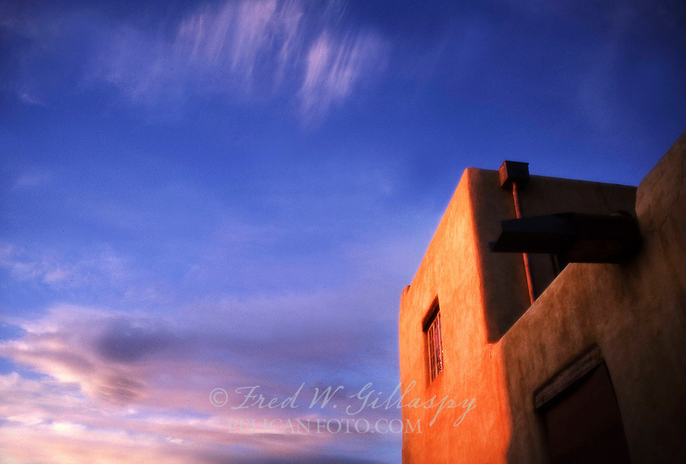 Sunset in Taos, New Mexico