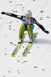 20.03.2010, Planica, Kranjska Gora, SLO, FIS SKI Flying World Championships 2010, Flying Hill Individual 3rd Round, im Bild Simon Ammann, ( SUI, #30 ), Weltmeister Ski Flug 2010, EXPA Pictures © 2010, PhotoCredit: EXPA/ J. Groder / SPORTIDA PHOTO AGENCY