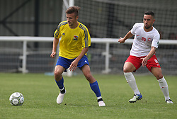 May 31, 2018 - London, United Kingdom - Roland Takacs of Karpatalya .during Conifa Paddy Power World Football Cup 2018  Group B match between Northern Cyprus against Karpatalya at Queen Elizabeth II Stadium (Enfield Town FC), London, on 31 May 2018  (Credit Image: © Kieran Galvin/NurPhoto via ZUMA Press)