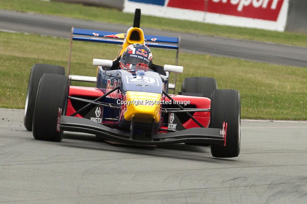 Daniil Kvyat seen here racing in the Timaru round of the 2011 Toyota Racing Series in New Zealand