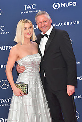February 18, 2019 - Monaco, Monaco - Stefan Blochner and Anna Posch arriving at the 2019 Laureus World Sports Awards on February 18, 2019 in Monaco  (Credit Image: © Famous/Ace Pictures via ZUMA Press)