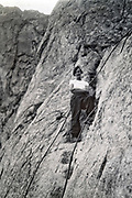 rock climbing  adventure 1935 Alps France
