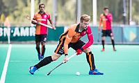 ROTTERDAM -  Mink van der Weerden (Oranje-Rood)  tijdens de wedstrijd om de derde plaats tegen Oranje Rood bij de ABN AMRO cup. COPYRIGHT KOEN SUYK