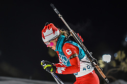 February 12, 2018 - Pyeongchang, Gangwon, South Korea - Julia Ransom ofCanada competing at Women's 10km Pursuit, Biathlon, at olympics at Alpensia biathlon stadium, Pyeongchang, South Korea. on February 12, 2018. (Credit Image: © Ulrik Pedersen/NurPhoto via ZUMA Press)