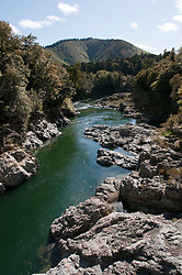 New Zealand, South Island, Pelorus River Bridge scenic view on road from Nelson to Marlborough. Photo copyright Lee Foster. Photo #126137