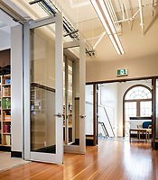 The school, SJ Burnside Educational Centre in Victoria, BC is renovated with contemporary DIRTT walls and upgraded both for seismic and usability reasons.