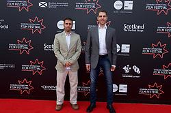 "Left to right on the red carpet, Directors Paul Shammasian and Ludwig Shammmasian during the Edinburgh International Film Festival Premier of ""Romans"" at Cineworld Edinburgh, Saturday 1st July 2017(c) Brian Anderson | Edinburgh Elite media"
