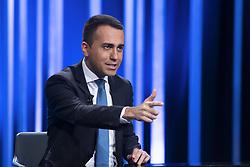 Italy, Rome - May 5, 2019.The Italian deputy prime minister and labour minister Luigi di Maio guest at 'Mezz'ora in più' TV talk show. (Credit Image: © Mistrulli/Fotogramma/Ropi via ZUMA Press)