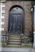 Old Dublin Amature Photos 1999 WITH, Georgian Door