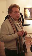 The Marquis Francois-Eudes de Louville de Toucy, The Real Dream, private view for an exhibition of work by Michael Rogatchi. Cork St. London.  5 December 2006. ONE TIME USE ONLY - DO NOT ARCHIVE  © Copyright Photograph by Dafydd Jones 248 CLAPHAM PARK RD. LONDON SW90PZ.  Tel 020 7733 0108 www.dafjones.com