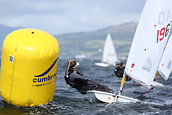 Day 4 NeilPryde Laser National Championships 2014 held at Largs Sailing Club, Scotland from the 10th-17th August.<br /> <br /> 196740, Sorcha DONNELLY<br /> <br /> Image Credit Marc Turner