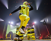 WASHINGTON, DC - January 20th, 2019 - A$AP Rocky performs in a mask at The Anthem in Washington, D.C. as part of his Injured Generation Tour. (Photo by Kyle Gustafson / For The Washington Post)